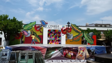 Stage in Comala
