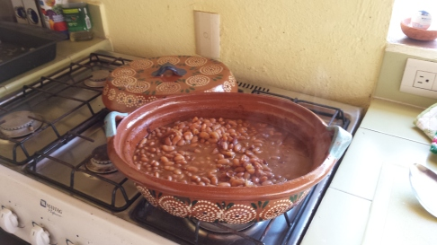 Frijoles al Horno de Boston ! Ready to serve.....