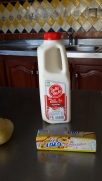 Milk - I used leche entera (whole milk)