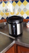 My new slow-cooker. Thanks for the suggestion, Gail Dejmal!