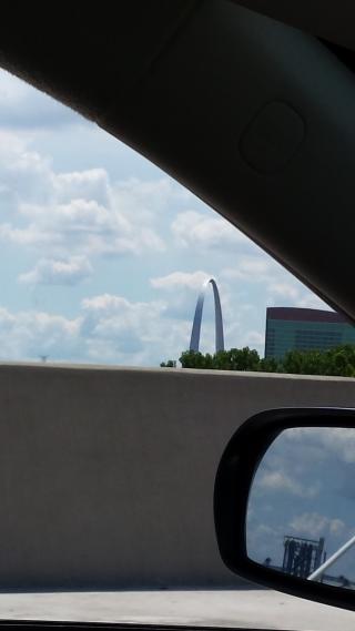 famous St. Louis arch