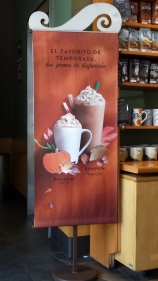Come on, Starbuck's, it's not even the first day of Autumn!!!