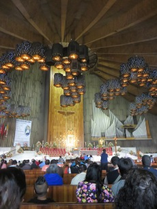 Inside the newest church
